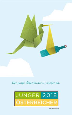Poster Junger Österreicher