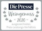 Die Presse Weingenuss 2020 Grüner Veltliner Grün & Kostbar